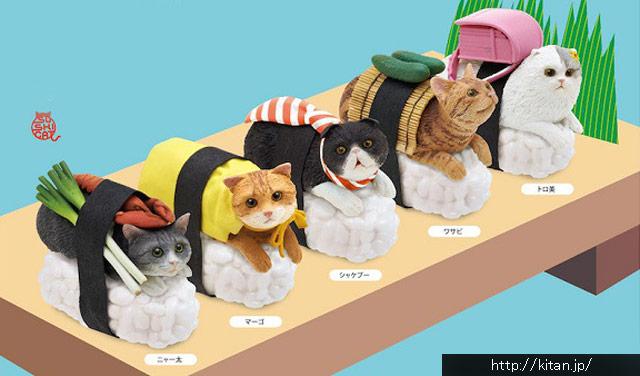 可愛すぎる♫「お寿司」のキャラクター7選
