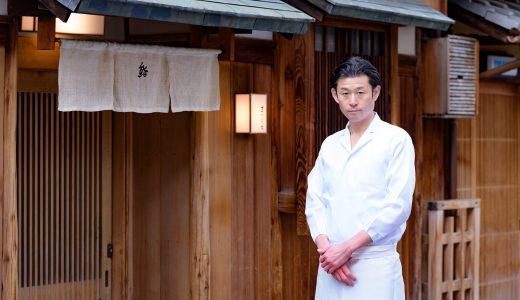 妥協を許さない繊細な技と心。京都祇園で花開いた、硬派な江戸前の職人気質   / 鮨 まつもと 松本 大典