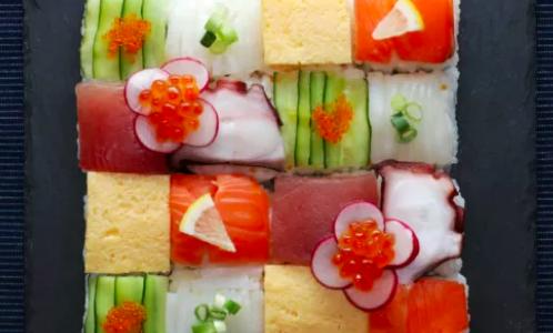 まるで宝石のような配色美!モザイク寿司 MOSAIC SUSHI