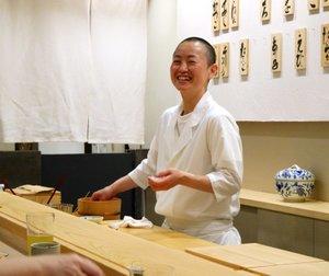 """女大将現る!""""新ばししみづ""""から独立した銀座「鮨竹」はコストパフォーマンスも抜群"""