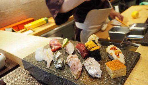 大森南朋が人生最後に食べたい、渋谷「鮨○☓」のおまかせ握り