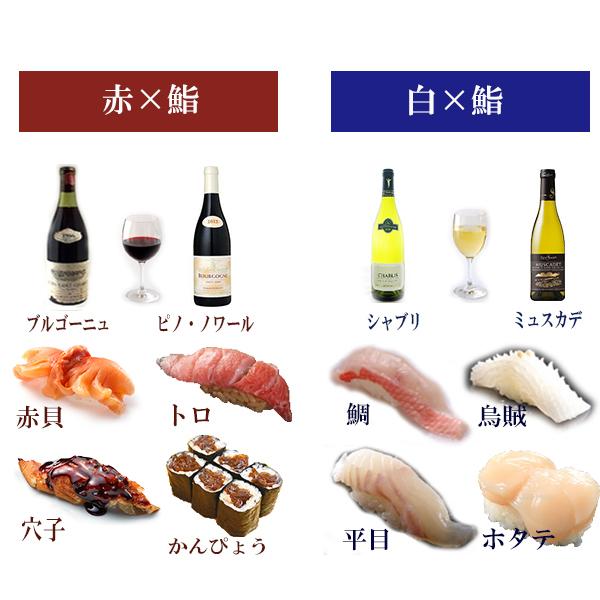 お鮨×ワイン  合わせるなら知っておきたい3つのこと