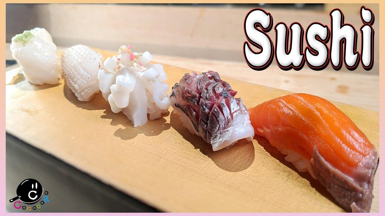 【神業】和食のプロが魅せる!お寿司の握りのこだわりと技!-イカの切り付け・炙り・湯引き編- SUSHI TIMES ORIGINALS