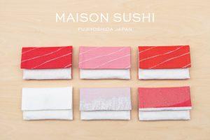 お寿司好きなあの人へのプレゼントにも!寿司ファブリックブランド「メゾン寿司」が 11月1日 寿司の日…